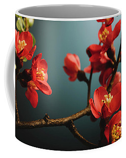 Japanese Flower Coffee Mug