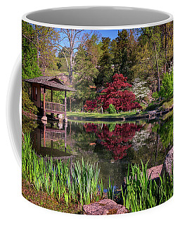 Japanese Garden At Maymont Coffee Mug by Rick Berk
