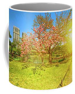 Japanese Garden Cherry Blossom Coffee Mug
