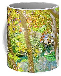 Japanese Garden Pond Coffee Mug