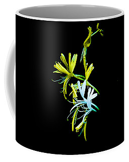 Coffee Mug featuring the photograph Japanese Honeysuckle by Bill Barber