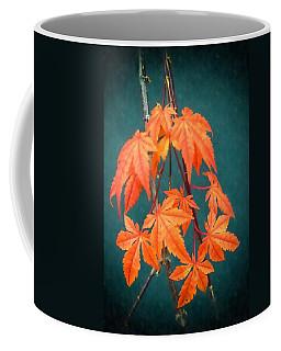 Japanese Maple Leaves Coffee Mug