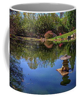 Japanese Reflections At Maymont Coffee Mug by Rick Berk