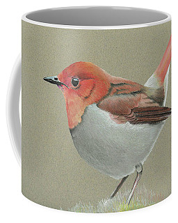 Japanese Robin Coffee Mug