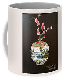 Japanese Satsuma Vase Coffee Mug