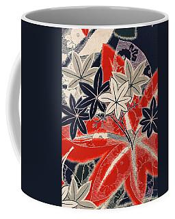 Japanese Style Maple Interior Art Painting. Coffee Mug