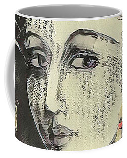 Japanese-style Selfie Coffee Mug