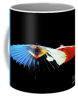 Japanese Umbrellas Assorted Colors Coffee Mug