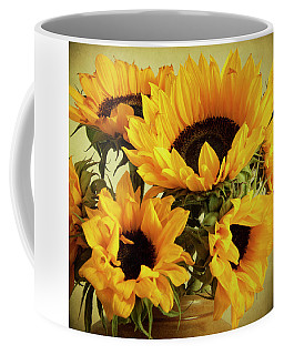 Jar Of Sunflowers Coffee Mug