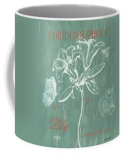 Jardin Botanique Aqua Coffee Mug