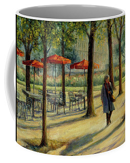Jardin Des Tuileries In October Coffee Mug