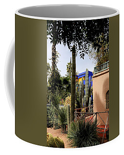 Coffee Mug featuring the photograph Jardin Majorelle 4 by Andrew Fare