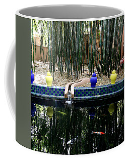 Coffee Mug featuring the photograph Jardin Majorelle by Andrew Fare