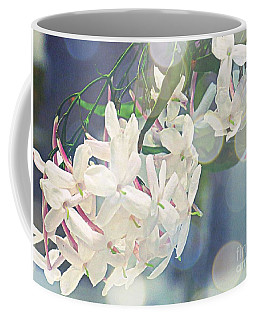 Jasmine In Bokeh  Coffee Mug by Leanne Seymour