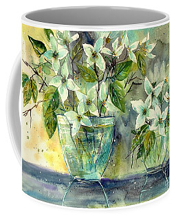 Jasmine In Glass Coffee Mug