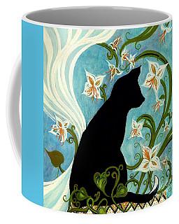 Jasmine On My Mind - Le Chat Noir Coffee Mug