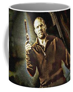 Jason Statham - Actor Painting Coffee Mug