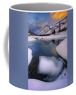 Jasper In The Winter Coffee Mug