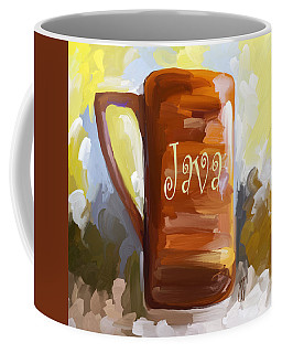 Java Coffee Cup Coffee Mug by Jai Johnson