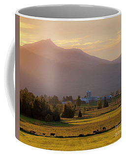 Jay Peak Misty Sunset Coffee Mug