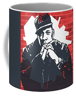 Jay Z Graffiti Tribute Coffee Mug