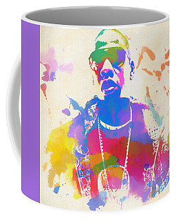 Jay Z Watercolor Coffee Mug