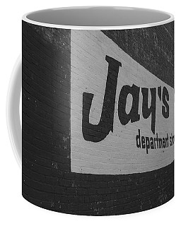 Jay's Department Store In Bw Coffee Mug
