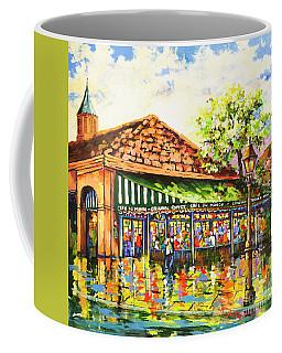 Jazz At Cafe Du Monde Coffee Mug