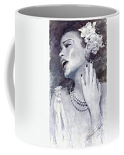 Jazz Billie Holiday Coffee Mug