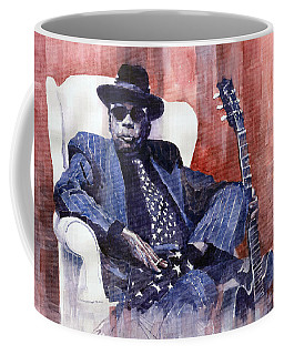 Jazz Bluesman John Lee Hooker 02 Coffee Mug