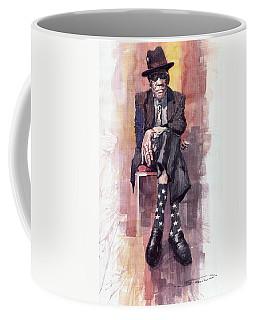 Jazz Bluesman John Lee Hooker Coffee Mug