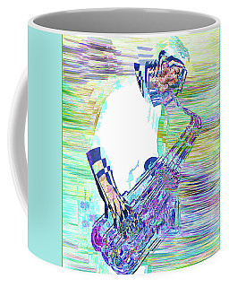 Coffee Mug featuring the photograph Jazz Melody by Vladimir Kholostykh