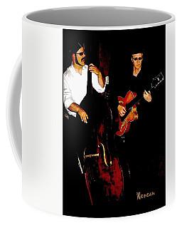 Jazz Musicians Coffee Mug by Sadie Reneau