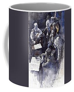 Jazz Parker Tristano Bauer Safransky Rca Studio Ny 1949 Coffee Mug
