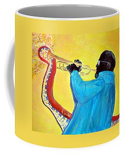 Jazzy Trumpet Player Coffee Mug
