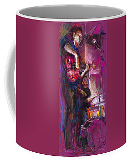 Jazz Purple Duet Coffee Mug