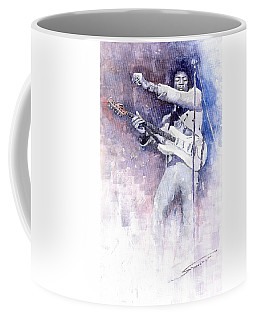 Jazz Rock Jimi Hendrix 07 Coffee Mug
