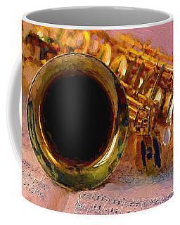 Jazz Saxophone Coffee Mug