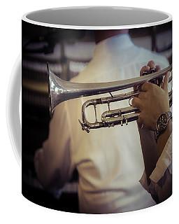 Jazz Trumpet New Orleans Coffee Mug