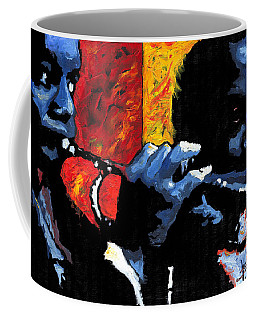 Jazz Trumpeters Coffee Mug