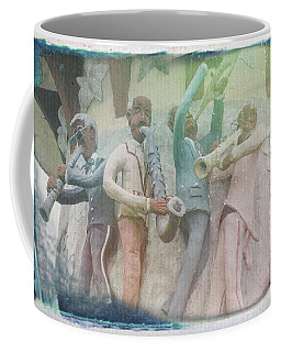 Jazzy Blues Coffee Mug