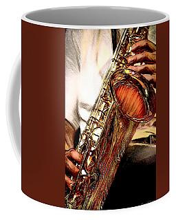 Jazzy Sax Coffee Mug