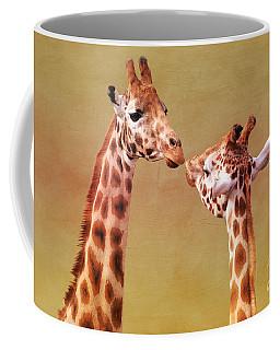 Je T'aime Giraffes Coffee Mug