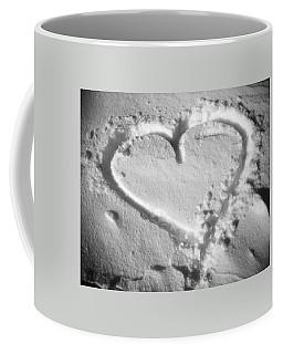Winter Heart Coffee Mug by Juergen Weiss