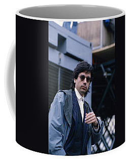 Jean Michel Jarre Coffee Mug by Shaun Higson