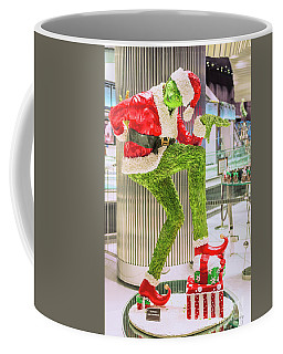 Jean Philippe's Chocolate Grinch In The Aria Casino Coffee Mug by Aloha Art