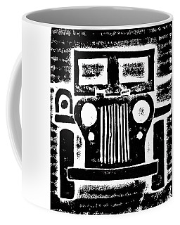 Jeep Coffee Mug by Jame Hayes