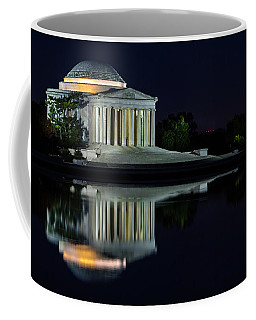 The Jefferson At Night Coffee Mug
