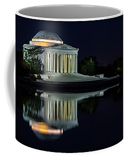 The Jefferson At Night Coffee Mug