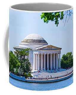 Jefferson Memorial Coffee Mug by Anthony Baatz